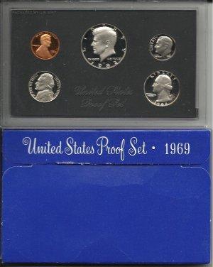 1969-S Proof Silver Mint Set