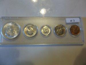 1964-D #3 Unc. Silver Mint Set