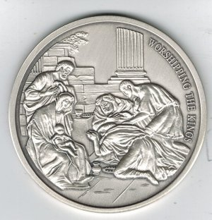 1999 History of Christianity -   .999 Silver Round w/COA