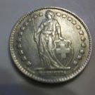 1963-B #1 Swiss  Silver 1 -  Franc