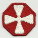 US Army Eighth (8th) Army Sleeve Patch