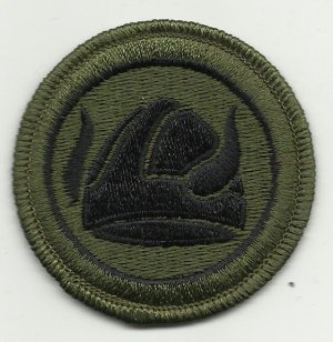 US Army 47th Infantry Division Subdued Patch