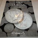New Harris & Co. Peace Dollar 1921-1935 Empty Coin Folder