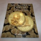 New Sacagawea 2000-2004 Folder with included Unc. coins