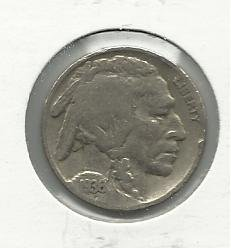 1936 #15 Buffalo Nickel
