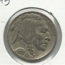 1937 #5  Buffalo Nickel