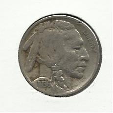 1936-S #4 Buffalo Nickel.