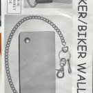 New leather Trucker/Biker wallet kit