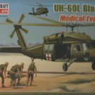 UH-60L BlackHawk Medical Evacuation Chopper Model Kit