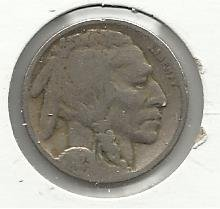 1923 #10 Buffalo Nickel.