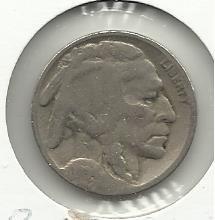 1934 #11 Buffalo Nickel.