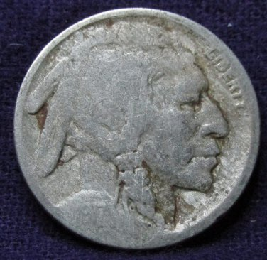 1917 #4 Buffalo Nickel