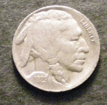 1929-D #12 Buffalo Nickel with FULL HORN