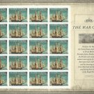 The War of 1812 Block of Stamps.