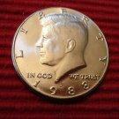 BU 1988 - D  Kennedy Half Dollar