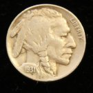 1931-S #1 Buffalo Nickel with FULL horn.