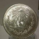 1938 #8 Unc.  Mexican Un Peso Silver Dollar