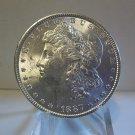 1887 #1 BU 90% Silver Morgan Dollar