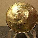 2005-P #1 BU Kennedy half dollar with rainbow edge