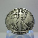 1945-S  #1  90% Silver Walking Liberty Half Dollar.