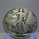 1944  #1  90% Silver Walking Liberty Half Dollar
