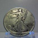 1943  #2  90% Silver Walking Liberty Half Dollar.