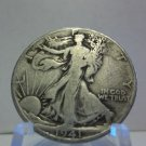 1941-D #1 90% Silver Walking Liberty Half Dollar.