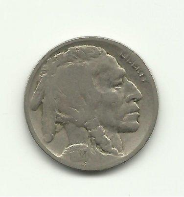 1927 #11 Buffalo Nickel