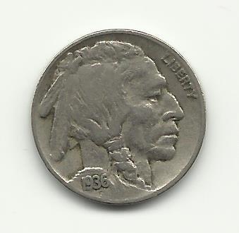 1936 #20 Buffalo Nickel
