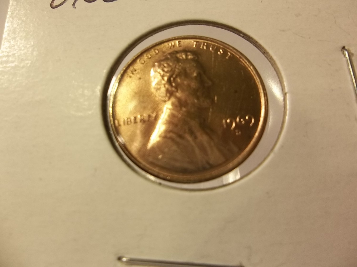1969-D #3  BU/Toned  Lincoln Cent.