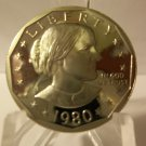 1980-S #2 Proof SBA Dollar.