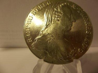 1780 #1 BU Maria Theresa thaler Silver
