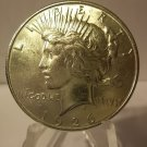 1926-S #1 Peace 90%  Silver Dollar.