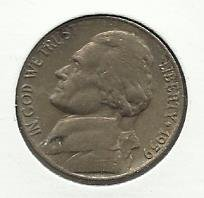 1959-D #1 Jefferson Nickel.