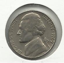 1969-D #1 Jefferson Nickel.