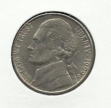 1999-D #1 Jefferson Nickel.