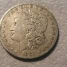 1880 #1  90% Silver Morgan Dollar.