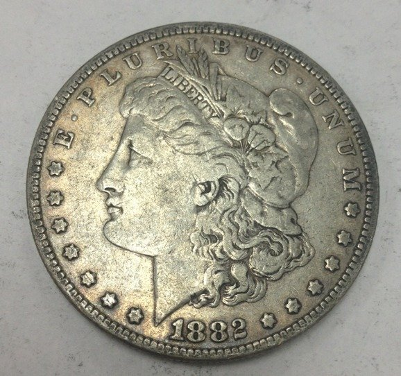 1882 #2  90% Silver Morgan Dollar