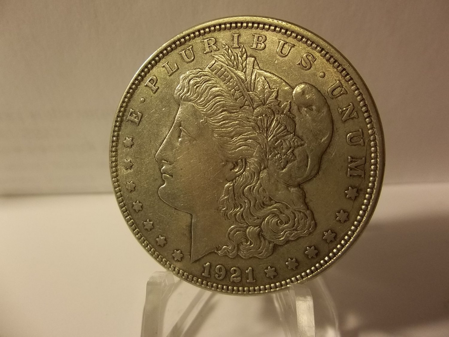 1921 #6  90% Silver  Morgan Dollar