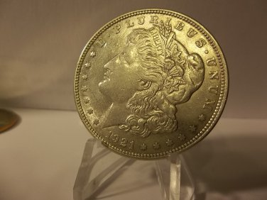 1921 #7  90% Silver  Morgan Dollar