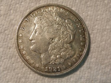 1921-D #2  90% Silver  Morgan Dollar.
