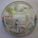 Issued in 1974 US Marine Offensive Lands At Bougainville Commemorative Proof