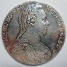 1780 #4 Maria Theresa Thaler silver