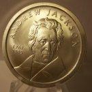 1767-1845 $50 PL Andrew Jackson 1 oz .999 Fine Silver Bullion Coin