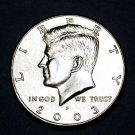 BU 2003-P Kennedy Half Dollar.