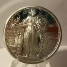 BU STANDING LIBERTY DRAPED QUARTER - 1 OZ Bullion