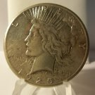 1925-S #1   Peace 90%  Silver Dollar