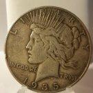 1935-S #2   Peace 90%  Silver Dollar