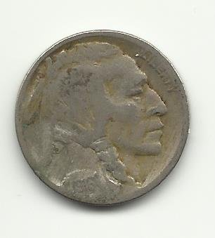 1918 #9 Buffalo Nickel.