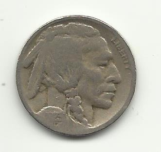 1923-S #12 Buffalo Nickel.